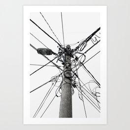 Electrica Paranormal Art Print