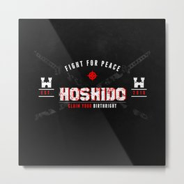 Fight for Hoshido! Metal Print