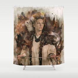 Queen Shower Curtain