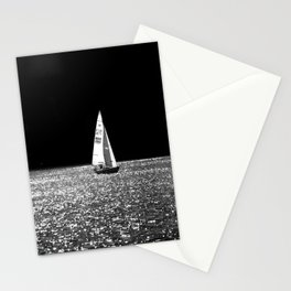 Sailing On The Lake Stationery Cards