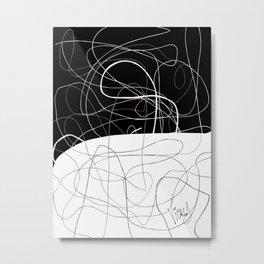 HILO4 B&N Metal Print