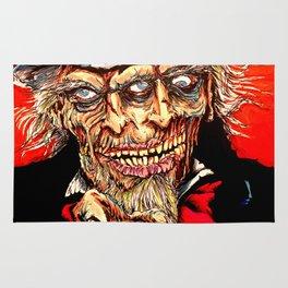 Uncle Zombie Sam Rug