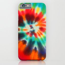 tye dye 13 iPhone Case