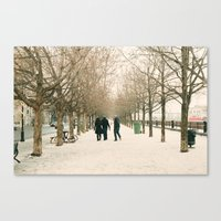 montreal Canvas Prints featuring Montreal by sarahscamera