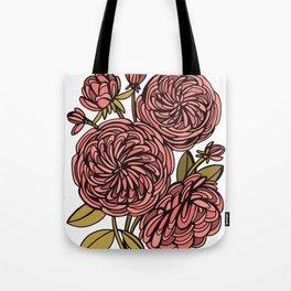 Heirloom Roses Tote Bag