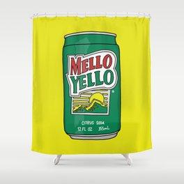 Mello Yello Shower Curtain