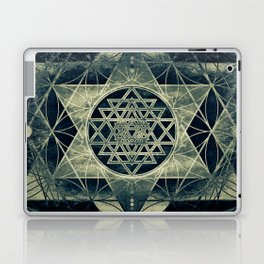 Sacred Geometry for your daily life- SRI YANTRA Laptop & iPad Skin