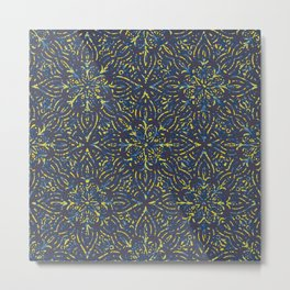 Ethnic pattern with bohemian colors Metal Print