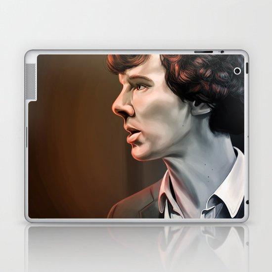 Is it nice not being me - Sherlock Laptop & iPad Skin