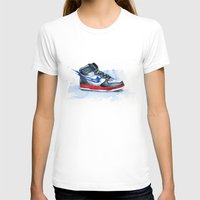 nike T-shirts featuring Nike dunk by istraille