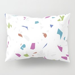 Mixed Colour Terrazzo Pattern Pillow Sham