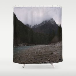 Koritnica River Shower Curtain