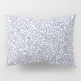 Silver Metallic Sparkly Glitter Pillow Sham