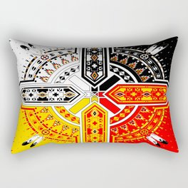 The Four Directions Rectangular Pillow