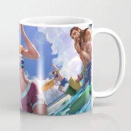 Pool Party Fiora Splash Art Wallpaper Background Official Art Artwork League of Legends lol Coffee Mug