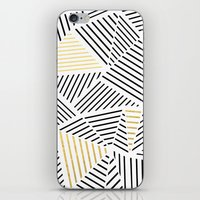 A Linear White Gold New iPhone Skin