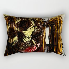 Ex mask Rectangular Pillow