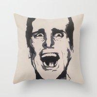 patrick Throw Pillows featuring Patrick by Kayleigh Kirkpatrick