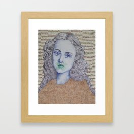 Lucy - It Goes Without Saying Framed Art Print
