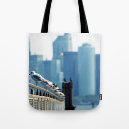 stand in a row... Tote Bag