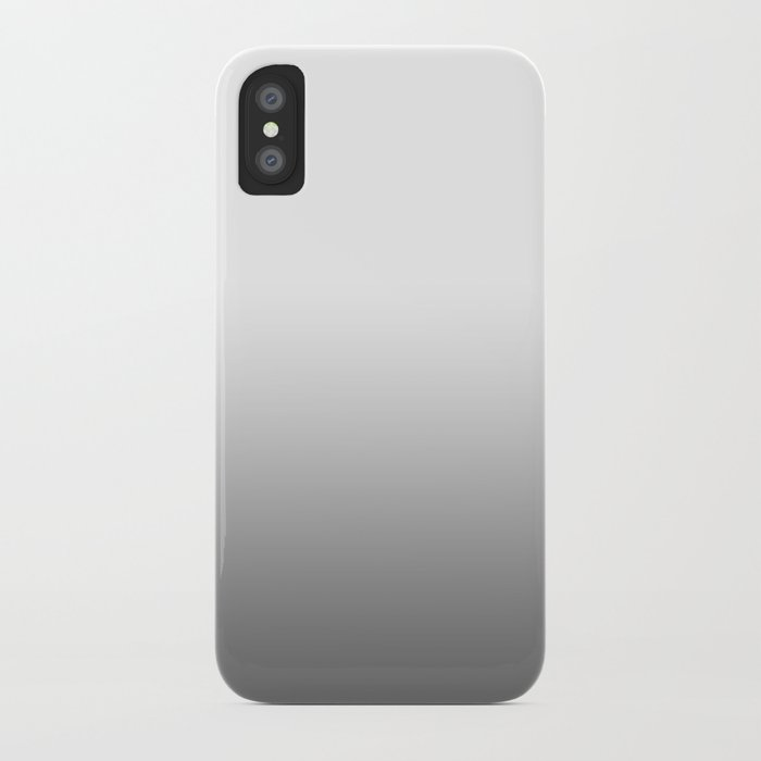 GRAY FADE iPhone Case