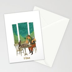 Lt. Falcon Stationery Cards