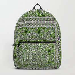 Green Crystal Tiles Backpack