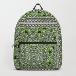 Green Crystal Tiles Backpack