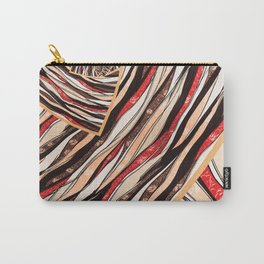 Color Pattern Carry-All Pouch