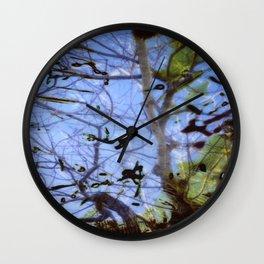 Imaginary Birds Wall Clock