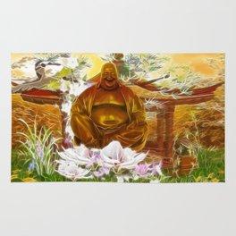 Happy buddha Rug