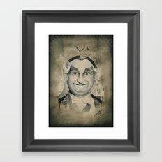 Grandpa Munster Framed Art Print