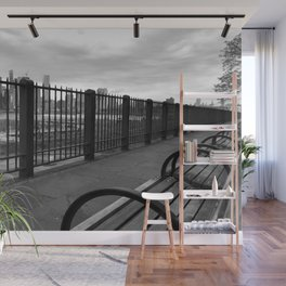 behind gates Wall Mural
