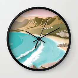 Cape Town | Vintage Travel Poster | Enhanced Matte Paper perfect for your wall ! Sizes: (inches) Wall Clock