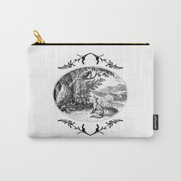 the fox and the crow Carry-All Pouch