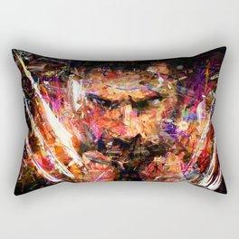 BRUSHWOLVERINE Rectangular Pillow