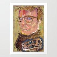 john snow Art Prints featuring John  by Liz Haywood