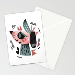Dreamer dog Stationery Cards