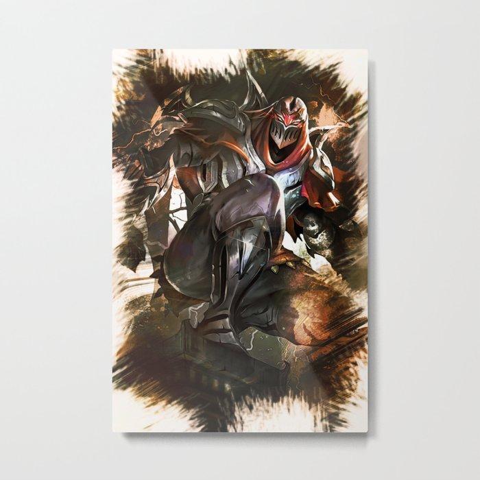 League of Legends ZED Metal Print