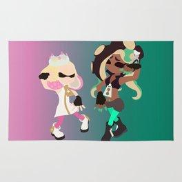 Marina & Pearl Deluxe - Splatoon 2 Rug