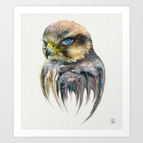 Female Eagle Art Print