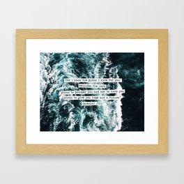 Jeremiah Ocean Framed Art Print