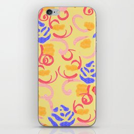 zakiaz summer roses iPhone Skin