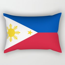 Philippines national flag Rectangular Pillow