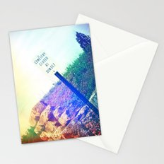 Closed at Sunset Stationery Cards