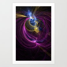 Fractal IV Art Print