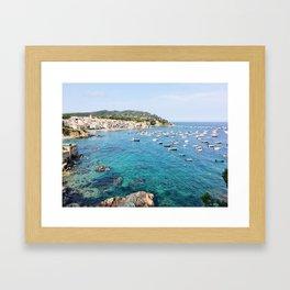 Costa Brava Spain Framed Art Print