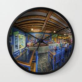 Retro Cafe Wall Clock