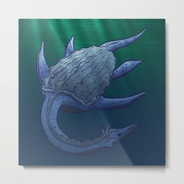 Leviathan Metal Print