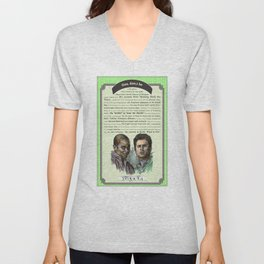 Gus, don't be - Psych Quotes Unisex V-Neck